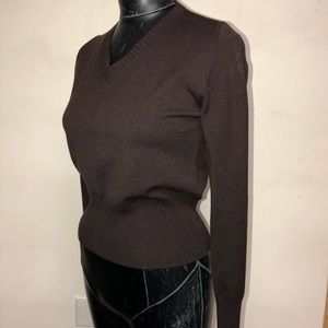 Max Mara V-Neck Fitted Sweater